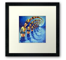 Bathers Singularity Framed Print