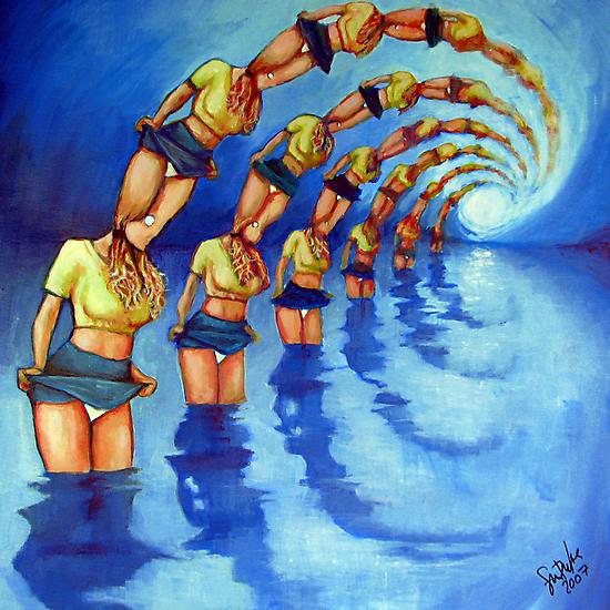 Bathers Singularity by Samuel Durkin