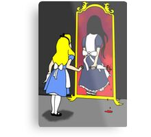 Madness through the looking glass Metal Print