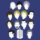 13 Doctors by MrSaxon