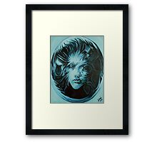 Trapped in the sphere Framed Print