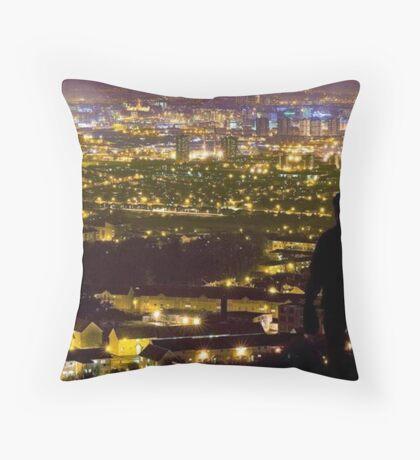 Glasgow City Throw Pillow