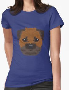 Border Terrier Womens Fitted T-Shirt