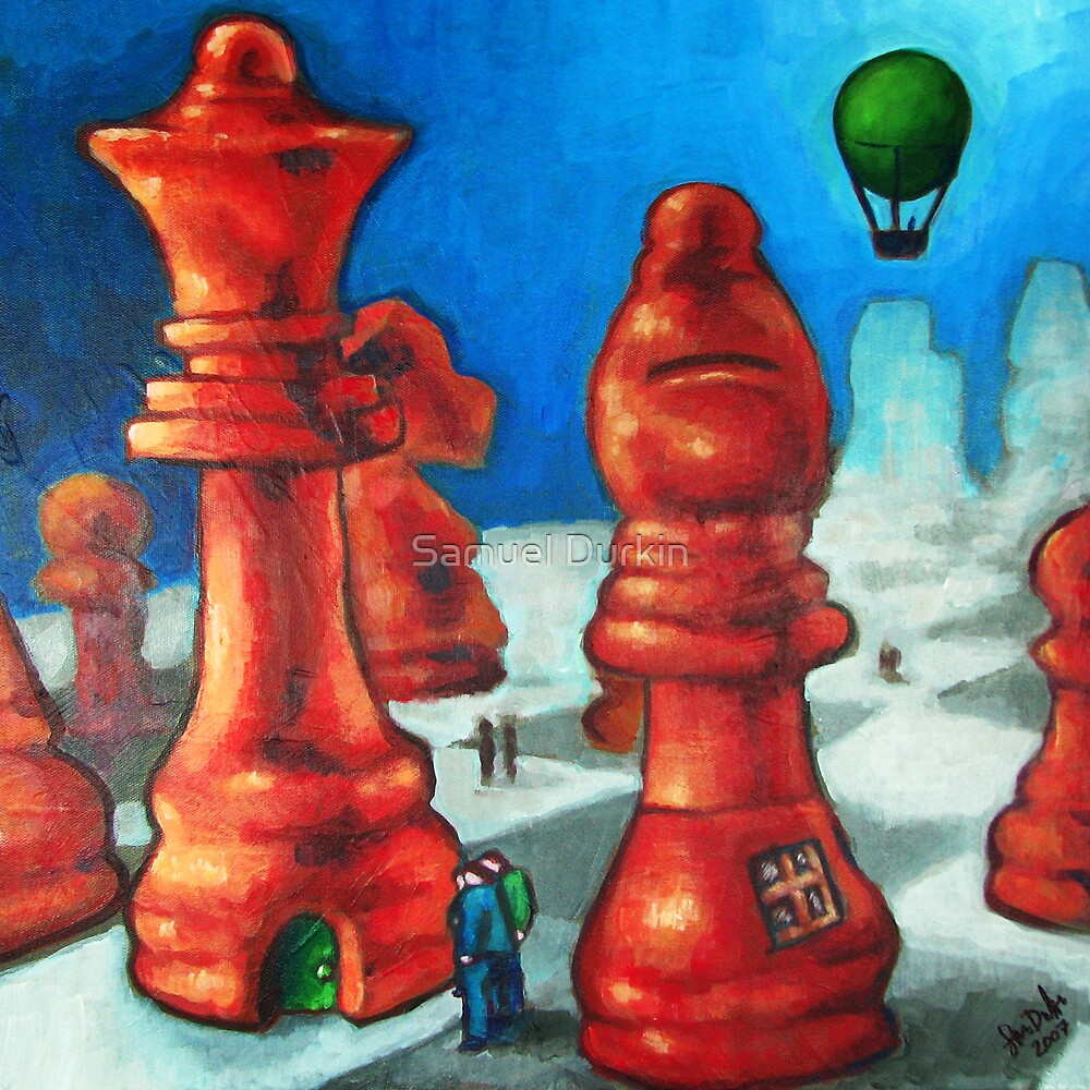 The Chess People by Samuel Durkin