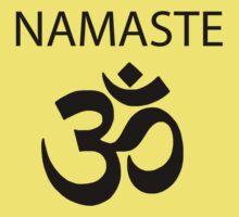 Namaste- meta misha shirt Kids Clothes