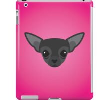 Black Chihuahua iPad Case/Skin