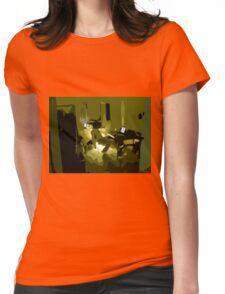 David is watching Wong Ka Wai Womens Fitted T-Shirt