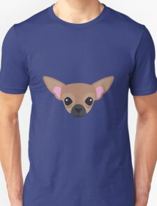 Brown Chihuahua Unisex T-Shirt