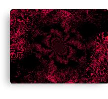 Red Fire Dragonfly  Canvas Print