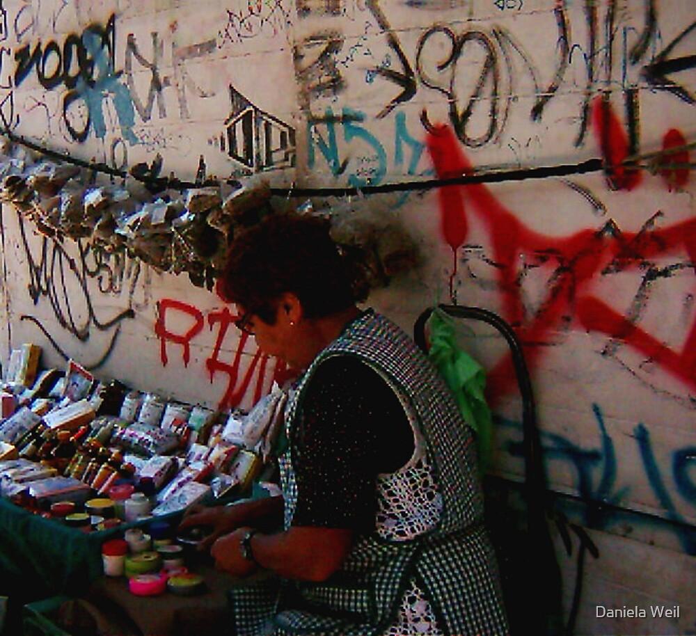 Graffiti in Santiago, Chile, 2004 by Daniela Weil