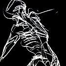 Nude Male 2- Gesture Drawing by karolina
