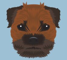 Border Terrier  One Piece - Short Sleeve