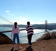 Golden Gate  Amazement by Trace Lowe