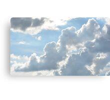 Cloud Smoke Canvas Print