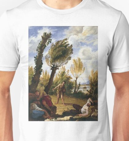 Domenico Fetti - The Parable Of The Weeds Unisex T-Shirt