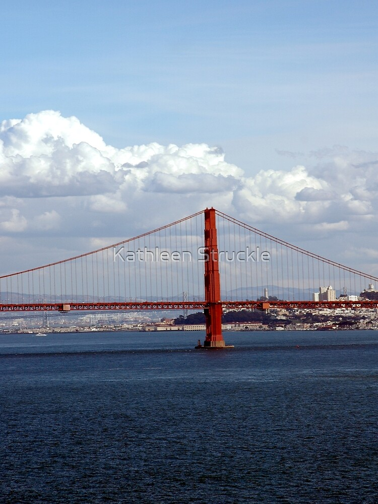 Another View Of Golden Gate Bridge by Kathleen Struckle