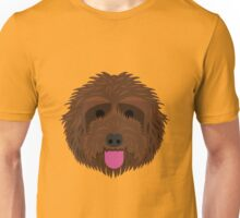 Brown Labradoodle Unisex T-Shirt