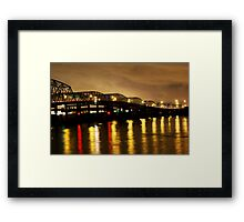Steel Bridge Framed Print