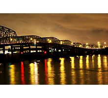 Steel Bridge Photographic Print