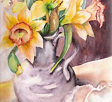 Daffodil Still Life by Marsha Woods