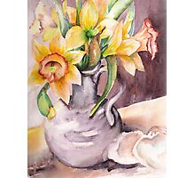 Daffodil Still Life Photographic Print