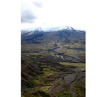 Volcanic Regrowth Photographic Print