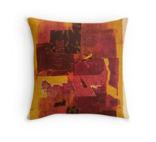 Yellow Chine Colle No. 2 Throw Pillow