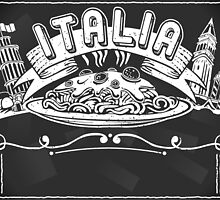 Graphic Element for Italian Background by aurielaki