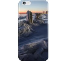 Icy Chicago Lakefront dawn iPhone Case/Skin
