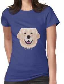 Golden Retriever  Womens Fitted T-Shirt