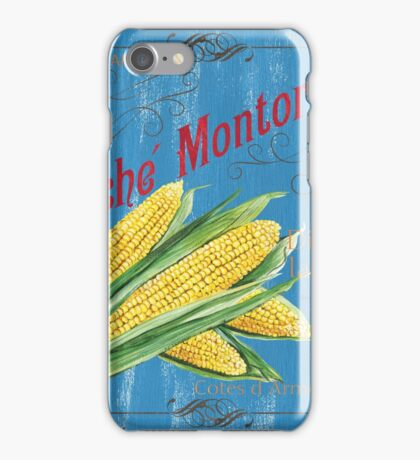 French Market Sign 2 iPhone Case/Skin