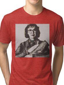 Twin Peaks Log Lady Tri-blend T-Shirt