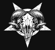 Pentangle - Pentagram / Goat by createdezign