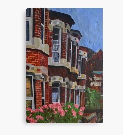 Ella Street, Hull Canvas Print