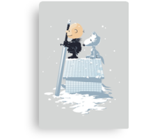 WINTER PEANUTS Canvas Print
