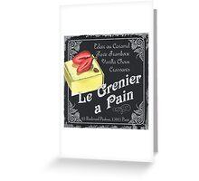 Le Grenier a Pain Greeting Card