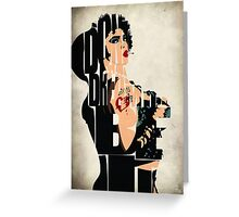 Dr. Frank N. Furter Greeting Card