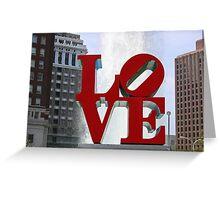 Love Park Greeting Card