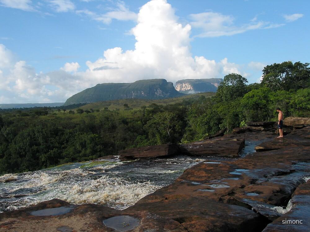 View over Sapo Falls by simonc