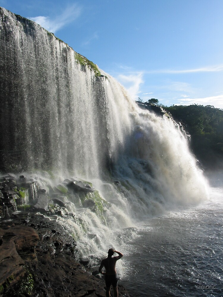 Amazing Waterfall  by simonc