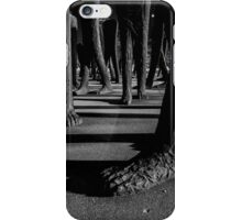 Chicago's Agora Sculpture at night iPhone Case/Skin