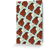 Krunchsicle Pattern Greeting Card