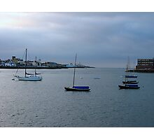 Sunrise over the Solent Photographic Print