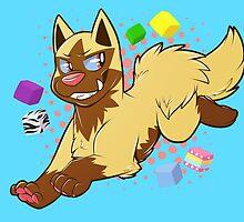 Pokemon - Shiny Poochyena by CupcakeCreature