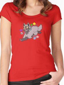 Pokemon - Poochyena Women's Fitted Scoop T-Shirt