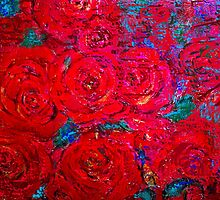 RED ROSES by Redlady