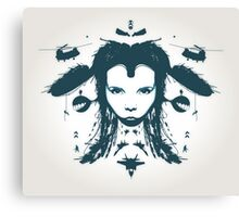 Warchild - Turquoise  Canvas Print