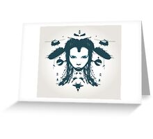 Warchild - Turquoise  Greeting Card