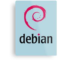 Debian Metal Print