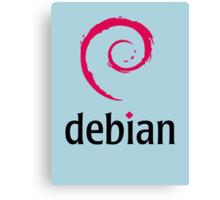 Debian Canvas Print